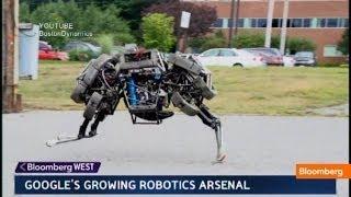 Google's Robot Army: Military or Civilian Purpose?