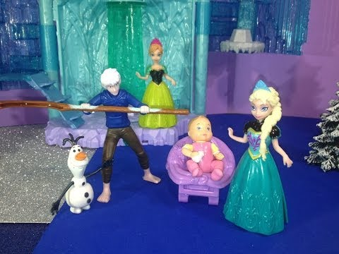 Disney Frozen Queen Elsa and Jack Frost have a Baby a Disney Frozen Movie