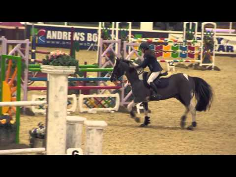Showjumping – Pony of the Year Show  Grand Prix Round 2 – March 2013