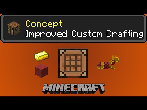 Improved Custom Crafting + Tutorial