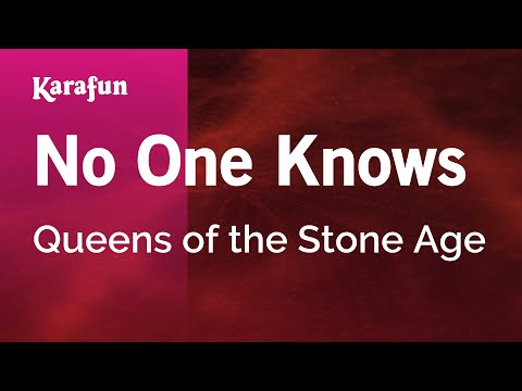 Karaoke No One Knows - Queens Of The Stone Age *
