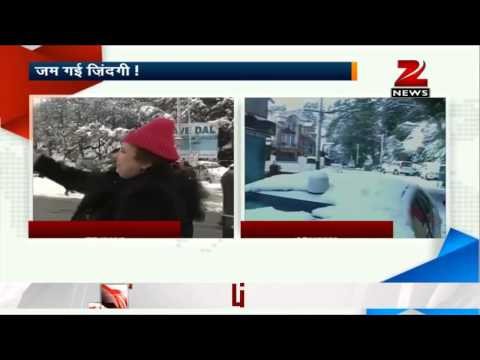 Kashmir remains cut off due to heavy snowfall
