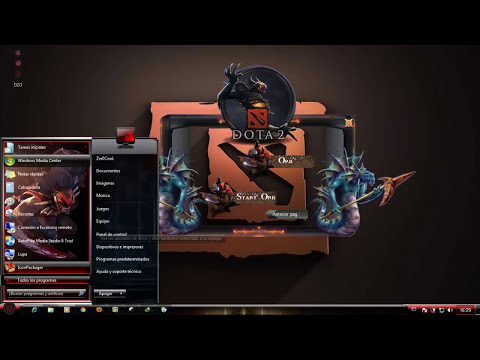 Tema Dota 2 para windows 7, pack de personalización completa 2013 HD