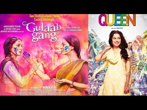 'Queen' Races Ahead Of 'Gulaab Gang'  - BT