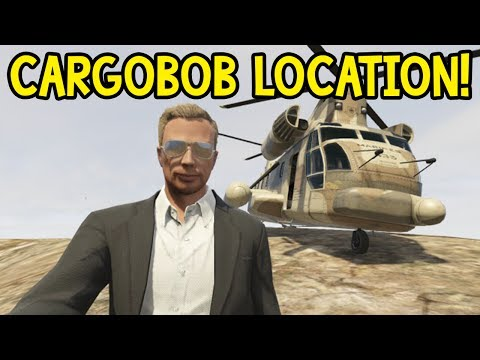Gta 5 Cargobob Location Online Gta 5 Online Cargobob