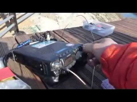 QRP operation bicycle trip