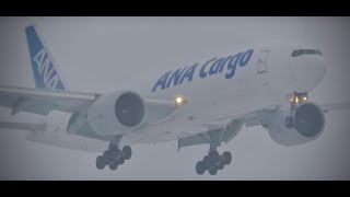 (4K) 1000th Upload! Plane Spotting in the Snow - Watching Airplanes O'Hare International Airport