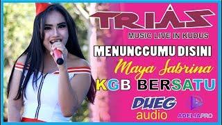 MENUNGGU KAMU DISINI MAYA TRIAS MUSIC KBG BERSATU