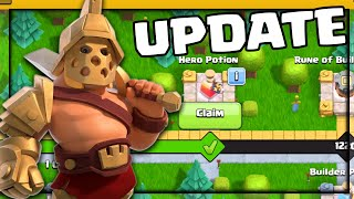 GLADIATOR BARBARIAN KING | HUGE UPDATE | Clash of Clans Town Hall 7 and UP!
