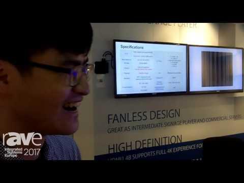 ISE 2017: ECS Shows Smart Cam Stick