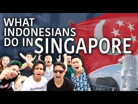 What Indonesians Do In Singapore