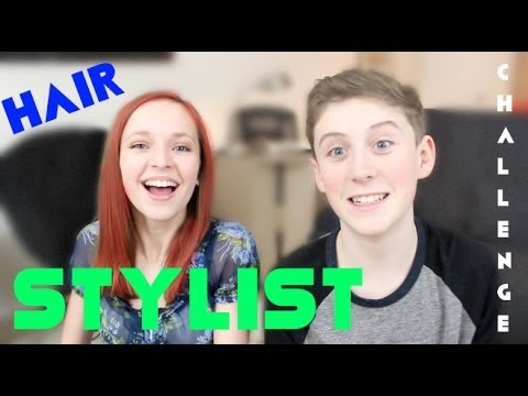 HAIR STYLIST CHALLENGE!  (w/ Trevor Moran)