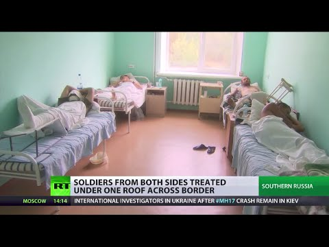 'I don't want to fight anymore' Wounded Ukrainian soldiers treated in Russia