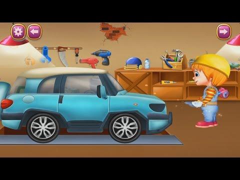 Мультик как ремонтируют машины