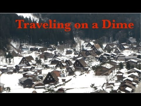 Traveling on a Dime   Gifu Day 2 Takayama and the World Heritage Shirakawa-go