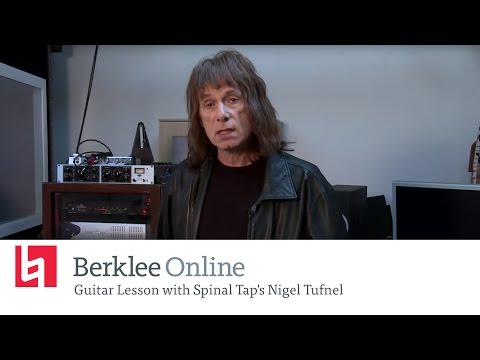 Guitar Lesson from Spinal Tap's Nigel Tufnel