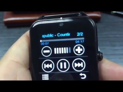 LEMFO LF11 Smart Watch also a MP3 Player