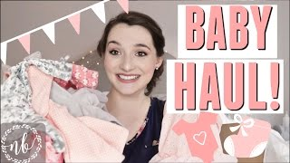 BABY GIRL CLOTHING HAUL!  👶🏻 🎀 🌸  || Natalie Bennett
