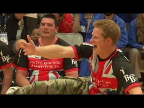 Prince Harry Attends Warrior Games for Wounded Troops