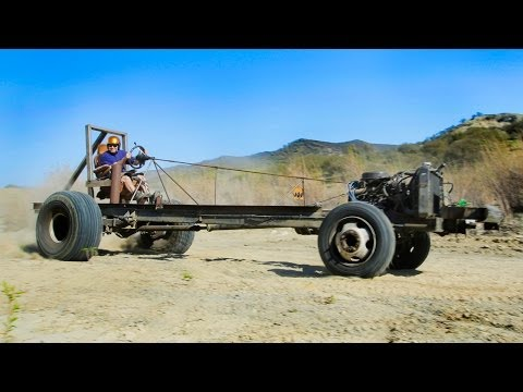 Motorhome Mashup Part 2: Monster Go-Kart Challenge! Dirt Every Day Ep. 28