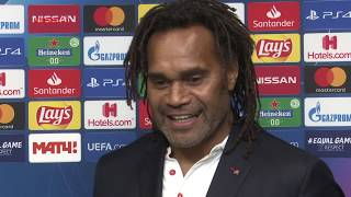 Ο κ. Κριστιάν Καρεμπέ στο Olympiacos TV! / Mr. Christian Karembeu on Olympiacos TV!