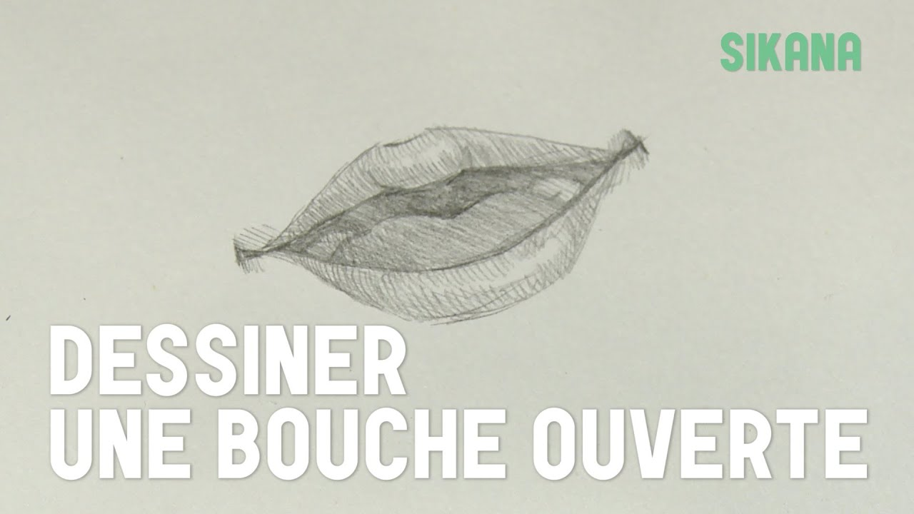 Dessin dessiner une bouche ouverte hd youtube - Bouche en dessin ...