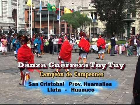 DANZA GUERERA TUY SAN CRISTOBAL HUANUCO