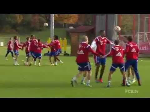 Bucket ball - Bayern Monaco di Guardiola - UP COACH