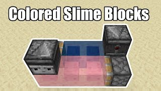 Colored Slime Blocks -- MumboJumbo's Datapack Suggestion