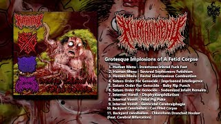 GROTESQUE IMPLOSIONS OF A FETID CORPSE [OFFICIAL 4-WAY SPLIT STREAM] (2019) SW EXCLUSIVE