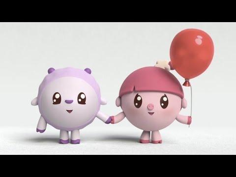 Малышарики - Красная шапочка (7 серия) Новый развивающий мультфильм для малышей