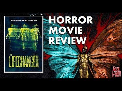 LIFECHANGER ( 2018 Lora Burke ) Love Story Body Horror Movie Review