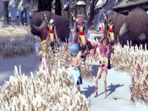 Psy Gangnam Style - Dragon Nest Ina Cover, Full Clip (with Cowboy Dance) video