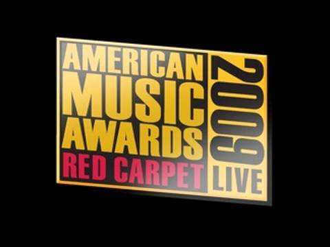 2009 AMA Red Carpet Show Live