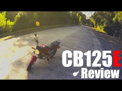 Honda CB125E 2013 Review