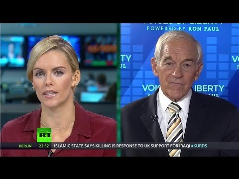 "[195] Ron Paul: US ""foolish"" to take on ISIS & Melissa Bell on new media"