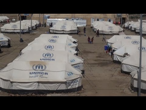 UNHCR opens new camp for displaced in north Iraq
