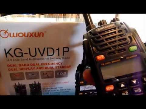 Wouxun KG-UVD1P HAM radio programming nightmare