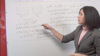 Cinética Química Teoría 5: Ecuación de velocidad