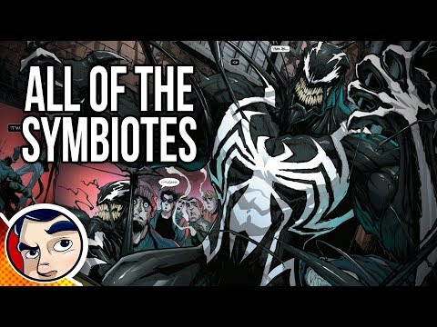 Venom All The Symbiotes - Know Your Universe