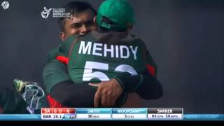 Bangladesh vs South Africa U19 world cup 2016 (South Africa Innings)