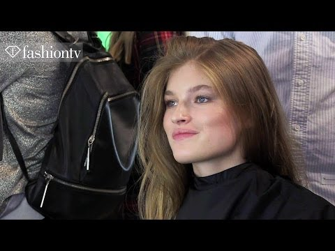 Matthew Williamson Spring/Summer 2014 Hair & Makeup Trends | London Fashion Week LFW | FashionTV