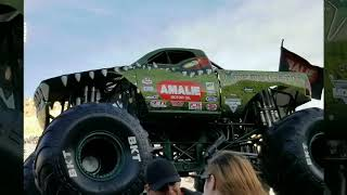 Monster trucks we had in the 2019, March 3rd monster jam in El Paso