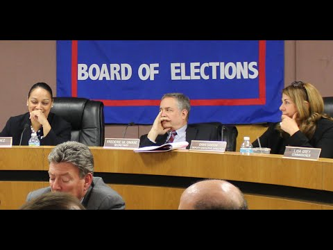 New York City Board of Elections Public Testimony - 5/3/2016
