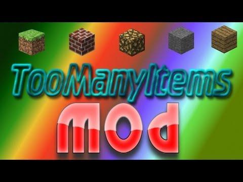 ★  Minecraft 1.8.1-Mody: TooManyItems