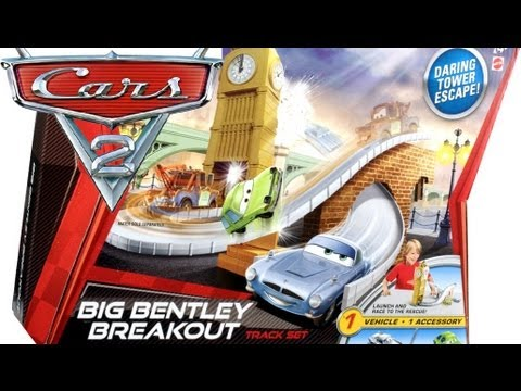Cars 2 Big Bentley Breakout Track Playset