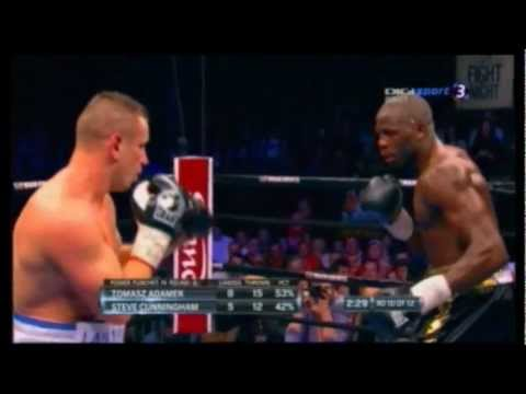 Tomasz Adamek vs Steve Cunningham II WALKA Fight 10 Round 22-12-2012 Boxing