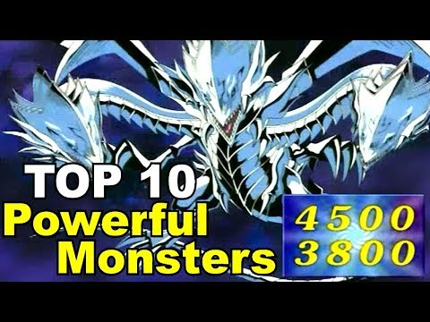 TOP 10: Most Powerful Yugioh Monsters!
