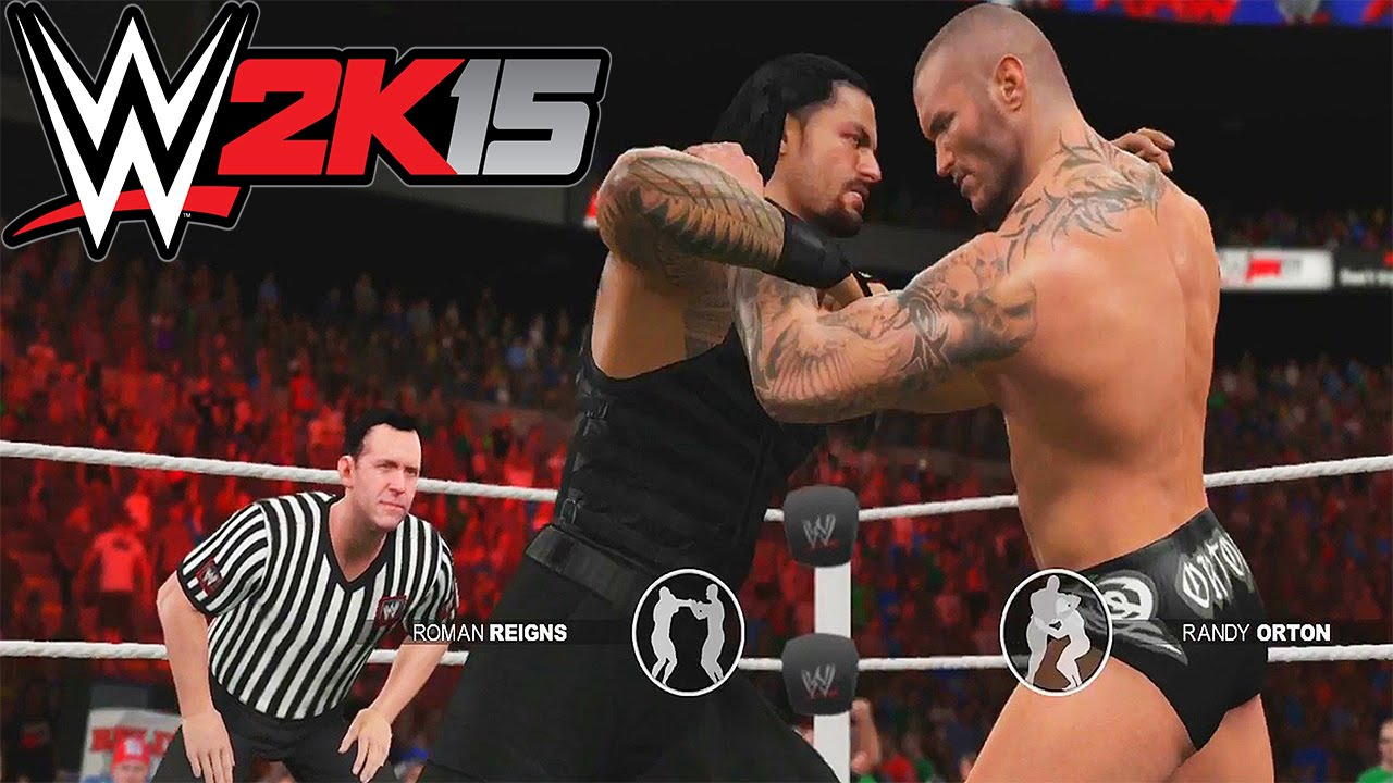 WWE 2K15 - Roman Reigns vs. Randy - 144.7KB