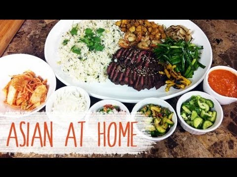 Asian at Home ::: Korean Beef Short Rib Burrito Bowl ::: Korean Mexican Food